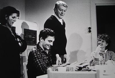 Pat Thompson, David Franklin, Bob Hornery and Susan Leith in The Secret House at Griffin